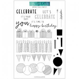 Bilde av Concord & 9th Birthday Stacks Stamp Set