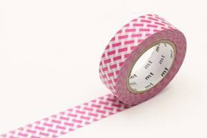 Bilde av mt Net Check Pink Washi Masking Tape