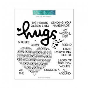 Bilde av Concord & 9th Cuddles & Hugs Stamp Set