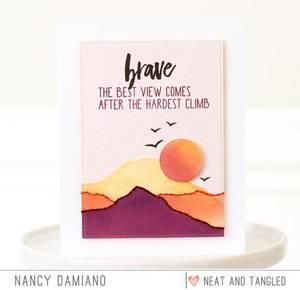 Bilde av Neat & Tangled Layered Landscape Stamp Set