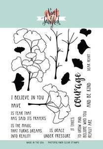 Bilde av Neat & Tangled Have Courage Stamp  Set