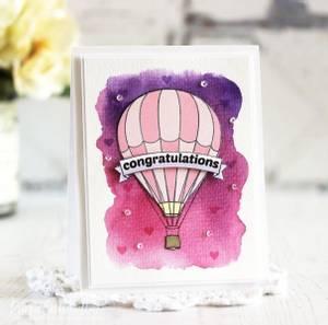 Bilde av Altenew Baby Balloon Stamp Set