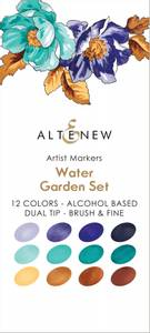 Bilde av Altenew Artist Markers Set - Water Garden