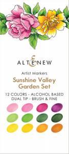 Bilde av Altenew Artist Markers Set - Sunshine Valley