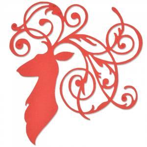 Bilde av Sizzix Thinlits Elegant Deer die