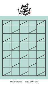 Bilde av Neat & Tangled Reciding Blocks Cover Plate Die