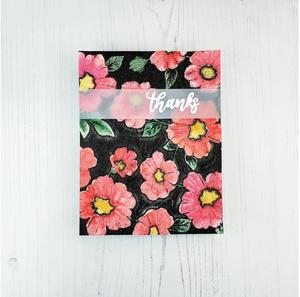 Bilde av Altenew Bold Floral Drape 3D Embossing Folder