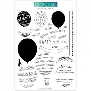 Bilde av Concord & 9th Happy Balloons Stamps set