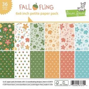 Bilde av Lawn Fawn Fall Fling Petite Paper Pack