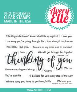 Bilde av Avery Elle You've Got This Clear Stamps