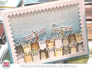 Bilde av Avery Elle All Of Us Clear Stamps