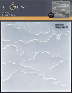 Bilde av Altenew Cloudy Day 3D Embossing Folder