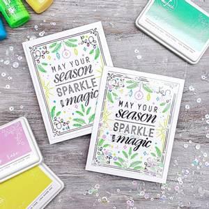Bilde av Pinkfresh Studio Sparkle With Magic stamp set