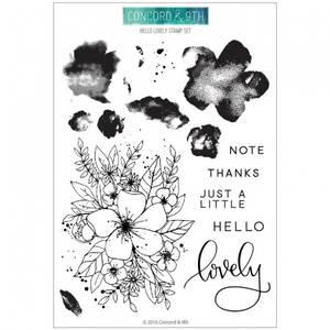 Bilde av Concord & 9th Hello Lovely Stamp Set