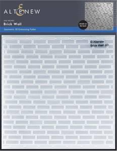 Bilde av Altenew Brick Wall 3D Embossing Folder