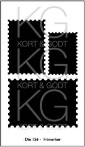Bilde av Kort og Godt Die 156 - Frimerker