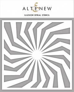 Bilde av Altenew Illusion Spiral Stencil
