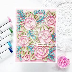 Bilde av Pinkfresh Studio Modern Blooms die