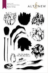 Bilde av Altenew Exotic Tulips Mask Stencil