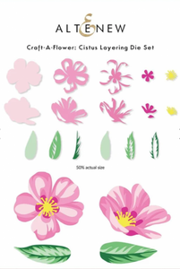 Bilde av Altenew Craft-A-Flower: Cistus Layering Die Set
