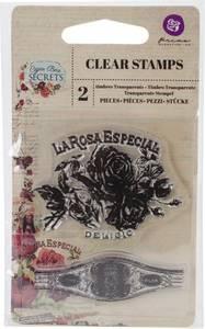 Bilde av Prima Cigar Box Secrets Clear Stamps