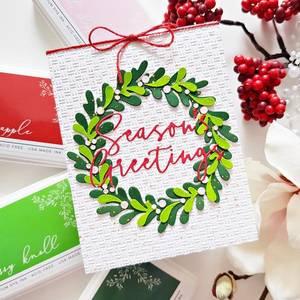 Bilde av Pinkfresh Studio Layered Wreath die set
