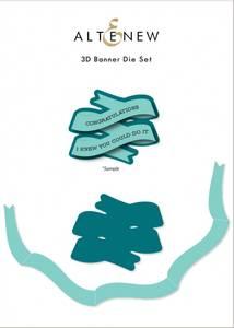 Bilde av Altenew 3D Banner Die Set