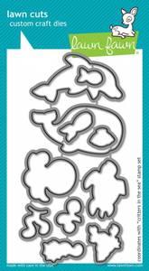 Bilde av Lawn Fawn Critters in the Sea Stamp Set