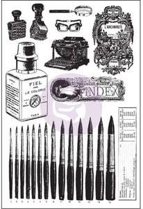 Bilde av Prima The Archivist Cling Rubber Stamps