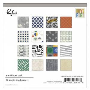 Bilde av Pinkfresh Studio Boys Fort Paper Pack