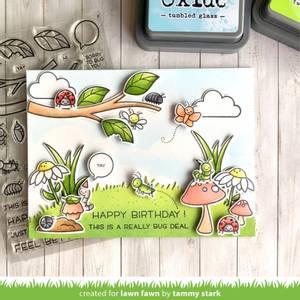 Bilde av Lawn Fawn A Bug Deal Stamp Set