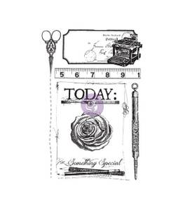 Bilde av Prima Stationer's Desk Cling Rubber Stamps