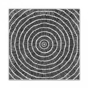 Bilde av Hero Arts Circular Grid Bold Prints