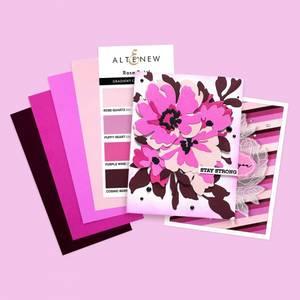 Bilde av Altenew Gradient Cardstock Set - Rose Petal