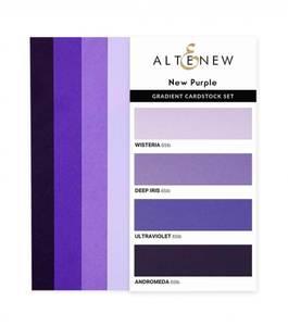 Bilde av Altenew Gradient Cardstock Set - New Purple
