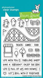 Bilde av Lawn Fawn Coaster Critters Stamp Set