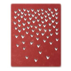 Bilde av Sizzix Thinlits Falling Hearts die