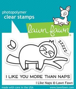 Bilde av Lawn Fawn I Like Naps Stamp Set