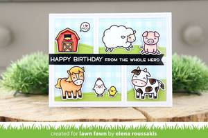 Bilde av Lawn Fawn Hay There Stamp Set