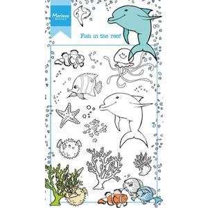Bilde av Marianne Design Fish In The Reef Stamp