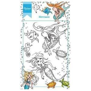 Bilde av Marianne Design Mermaids Stamp
