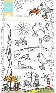 Bilde av Marianne Design At The Beach Stamp