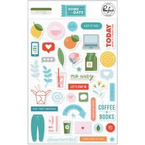 Bilde av Pinkfresh Studio Some Days Puffy Stickers