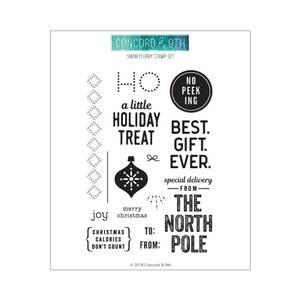 Bilde av Concord & 9th Holiday Cheer Tags Stamp Set