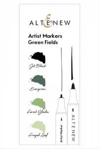 Bilde av Altenew Artist Markers Green Fields Set