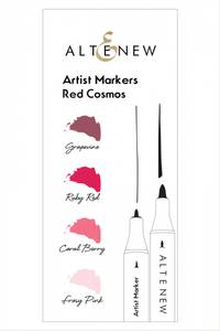 Bilde av Altenew Artist Markers Red Cosmos Set