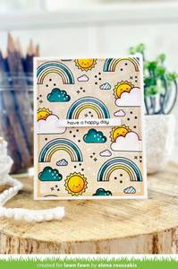 Bilde av Lawn Fawn All the Clouds Stamp Set