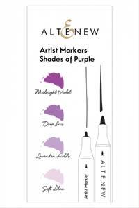 Bilde av Altenew Artist Markers Shades of Purple Set