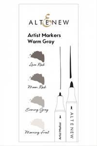 Bilde av Altenew Artist Markers Warm Gray Set