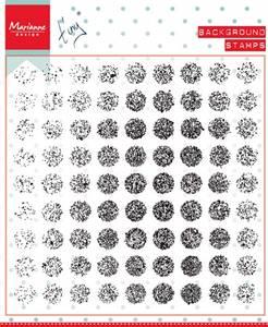Bilde av Marianne Design Distressed Dot Background Stamp